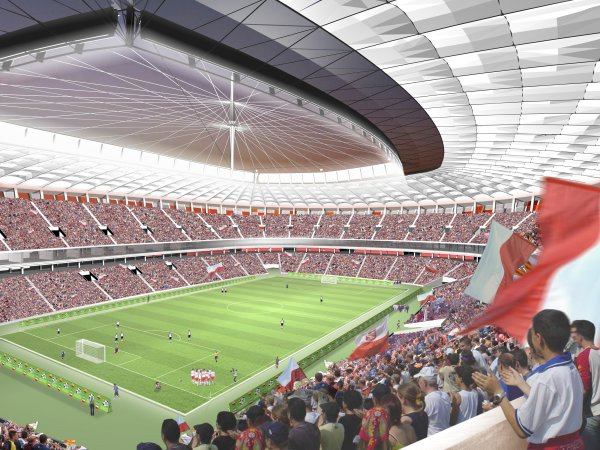 ملعب الذي سيحتضن حفل افتتاح يورو 2012